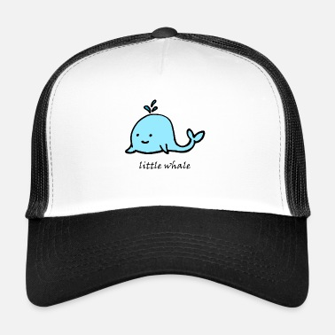 Cute Animals cute animal cute little whale - Trucker Cap