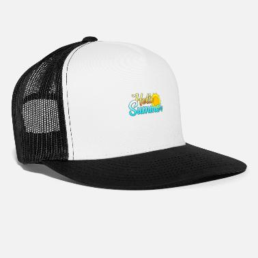 Summer design [Hello Summer] - Trucker Cap