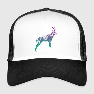 Capricorno Hooved Animal Zodiac Capricorn Gams Horn - Trucker Cap