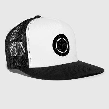 Color Circle Everything Black Black - Trucker Cap