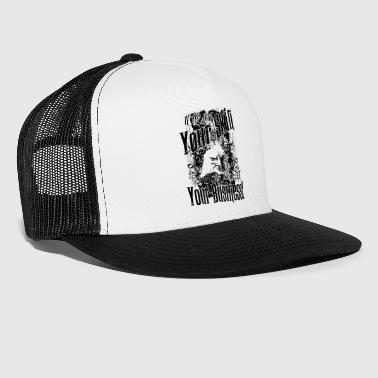 Citations de tatouage> My Skin My Business - Trucker Cap