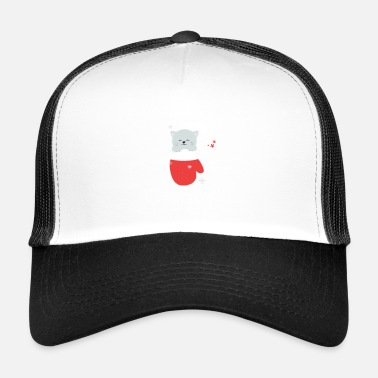 Meme Happy Paw-Lidays - Trucker Cap