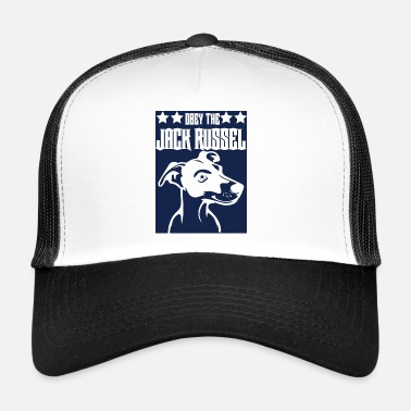 Obey Perro / Jack Russell: Obey The Jack Russell - Gorra de camionero