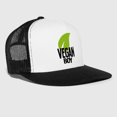 Vegan Boy sort - Vegan Shirt - Trucker Cap