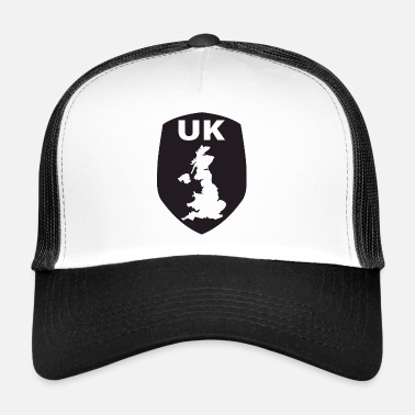 Toxin UK emblem - Trucker Cap