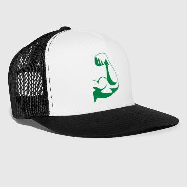 Strong muscle biceps - Trucker Cap