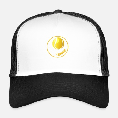 Tennis Tennis - Tennis Circle - Tennis Ball - Trucker Cap