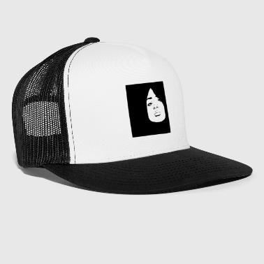 fille pochoir - Trucker Cap