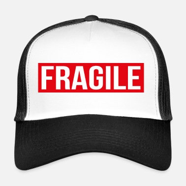 Fragile- Handle With Care BREEKBAAR - Breekbaar - Trucker Cap