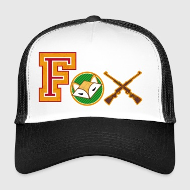 Fox varsity patches - Trucker Cap