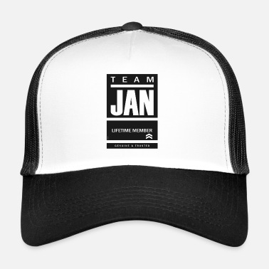 Be Yourself Team Jan Lifetime Member - Trucker Cap