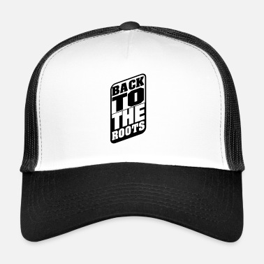Vip BackToTheRoots Black - Trucker Cap