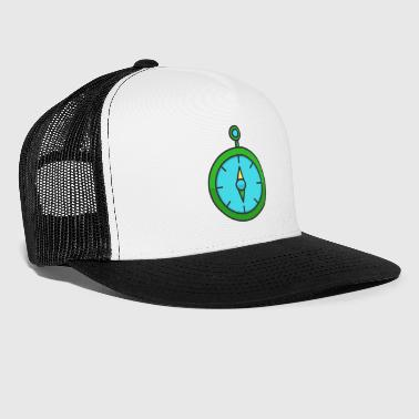 Fancy Clock Design #sa4 - Trucker Cap