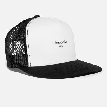 Uno Di Uno simple cotton t-shirt - Trucker Cap