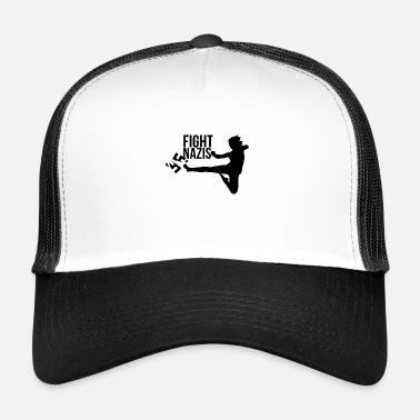 Nazi Fight Nazis! - Trucker Cap