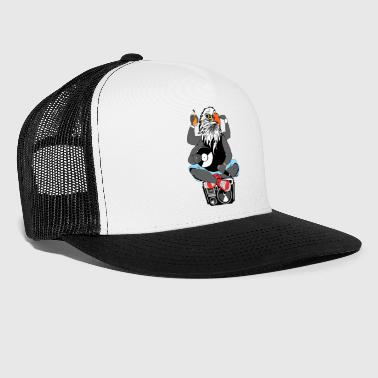 Räppäri eagle head mankka old school hip hop - Trucker Cap