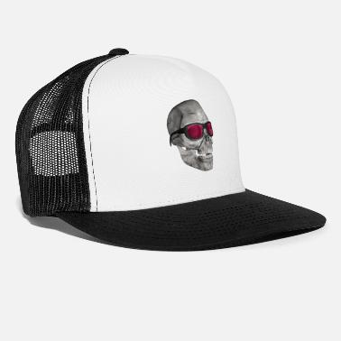Ironi skull med solbriller - skull with sunglasses - Trucker cap