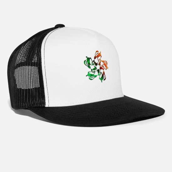Easter Caps & Hats - Bunny - Trucker Cap white/black