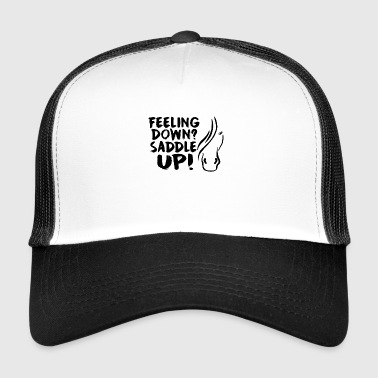 Horse Saying Saddle Up - Trucker Cap