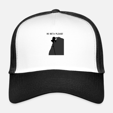 Beta No beta, por favor! Sin beta - Gorra de camionero
