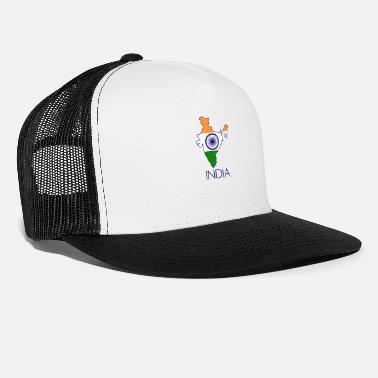 India india - Cappello trucker
