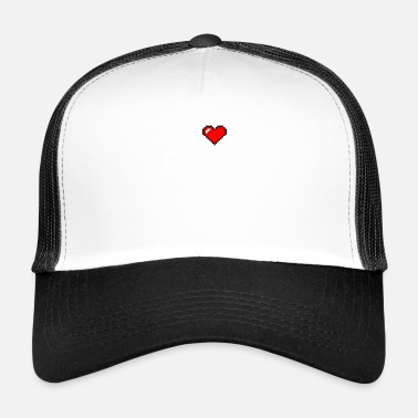 Beat Em Up I Love Gaming / Gamer Zocker Video Games Shirt - Trucker Cap