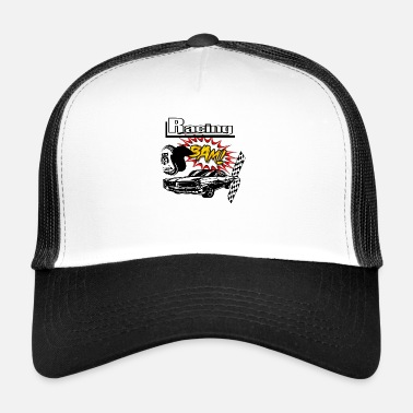 Race Car Muscle car car race - Trucker Cap