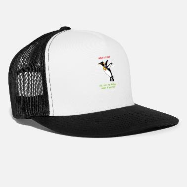 Joy What if I fall? - Trucker Cap