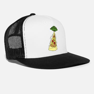 Ufo UFO kidnapt pizza - Trucker cap
