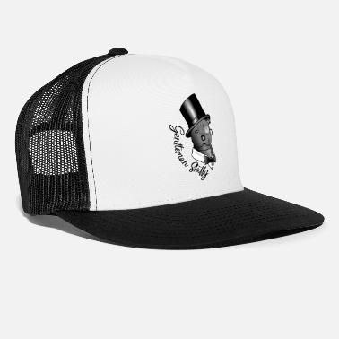 Monokkeli herrasmies Staffy - Trucker cap
