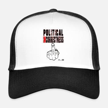 Lokey Juegos Oficial Incertidumbre Política - Gorra trucker 74979771236