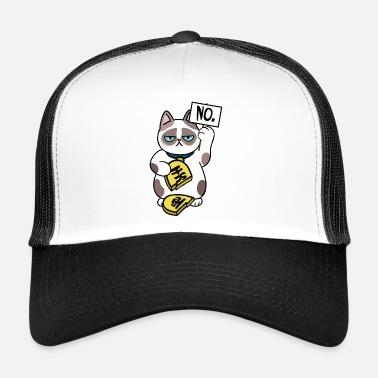 Cat Design sfortunato - Trucker Cap
