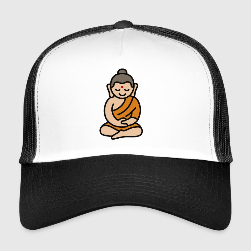 Buddha Cartoon - Trucker Cap