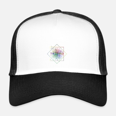 Techno Music TECHNO MUSIC - Trucker Cap