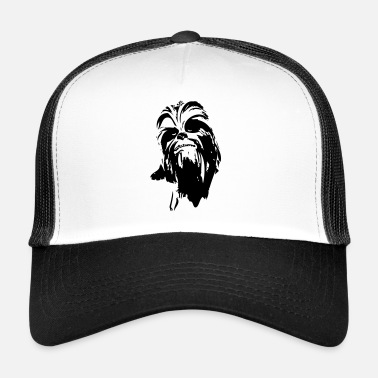 Chewbacca chewbacca monster bont haar star friend baard lase - Trucker Cap