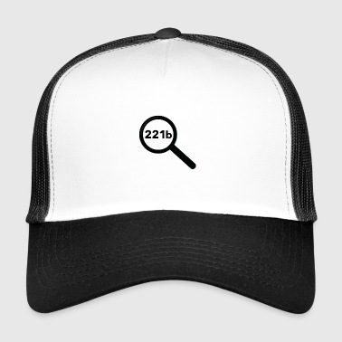 Magnifying Glass Sherlock Holmes magnifying glass - Trucker Cap