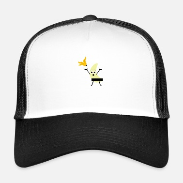 Strip Idea de regalo de Banana Strip - Gorra de camionero