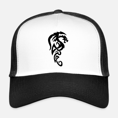 Tribal Dragon Tribal dragon - Trucker Cap