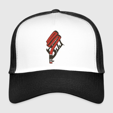 red belt - Trucker Cap
