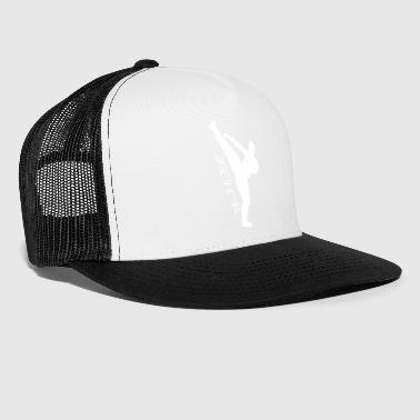 High kick Kick white - Trucker Cap