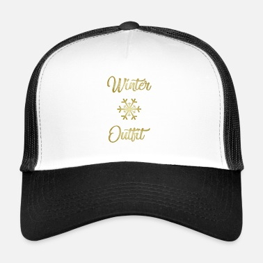 Frost Winter Outfit Weihnachten Fashion Winter Geschenki - Trucker Cap