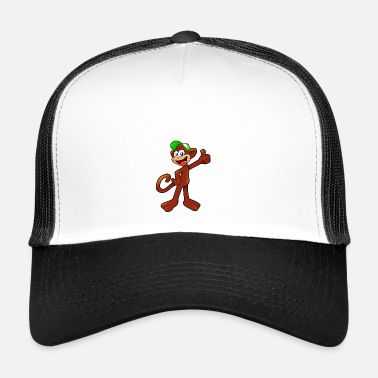 Singe Anthropoïde singe - Trucker Cap