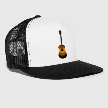 Acoustic guitar - Trucker Cap