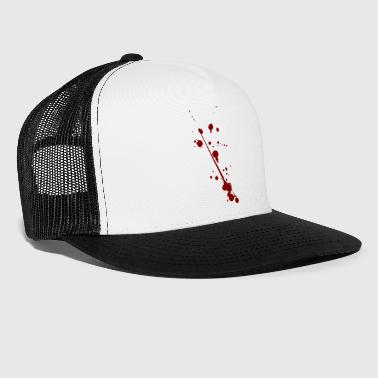Blood splatter - Trucker Cap