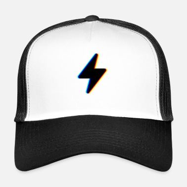 Bright &amp lightning stream symbol logo - Trucker Cap