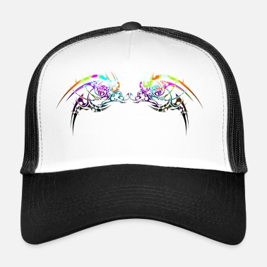 Neon Neon tribal design - Trucker Cap