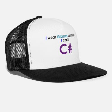 Freddure Can't C# - Cappello trucker