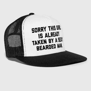 Taken Bearded Man Funny Quote - Trucker Cap