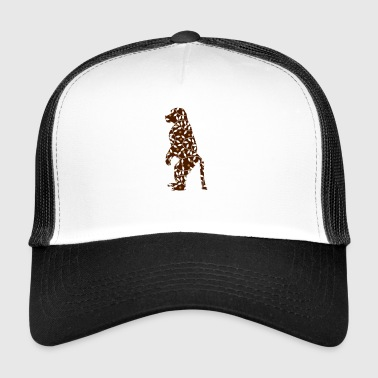monkey chimpanzee primate animal - Trucker Cap