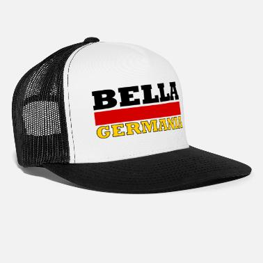 Germania Belle Allemagne (drapeau) - Bella Germania - Casquette trucker